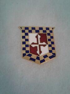 Authentic-US-Army-306th-Cavalry-Regiment-DI-DUI-Unit-Crest-Insignia-NH