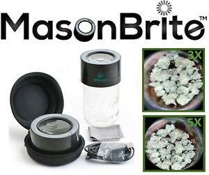 MasonBrite-Airtight-LED-3X-amp-5X-Magnification-Mason-Stash-Jar-Lid-FREE-SHIPPING