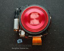 Nikon COOLPIX S6200 S6300 LENS UNIT ASSEMBLY REPAIR  RED A0178