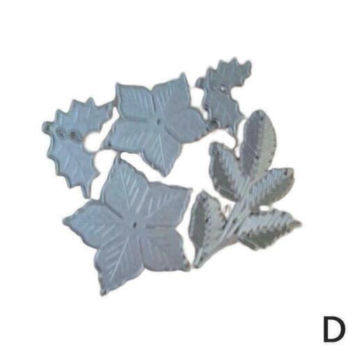 Flower Circle DIY Metal Cutting Dies Scrapbooking Photo B0W7 St Card Paper T0T1