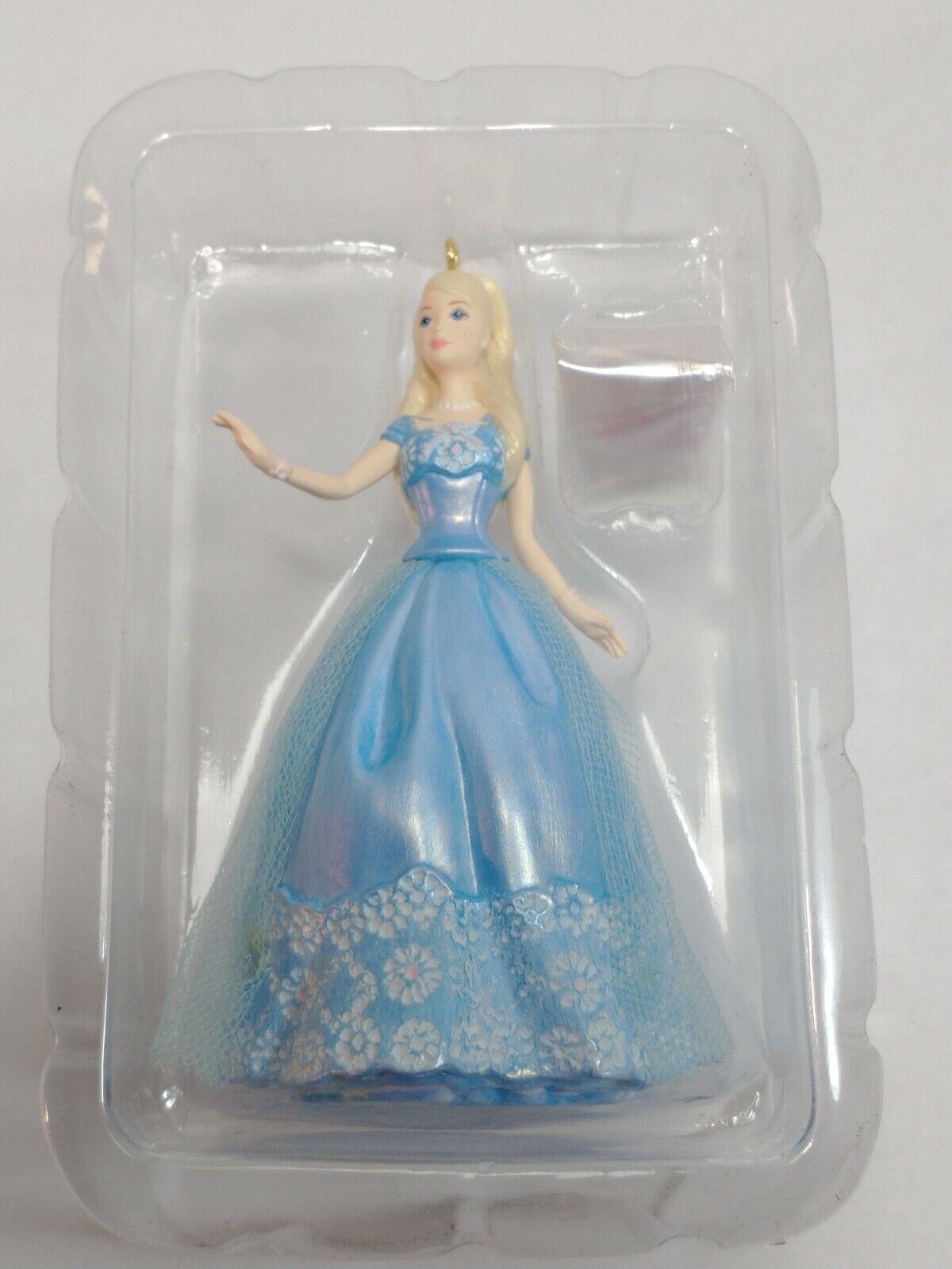 Barbie Christmas Handcrafted Barbie as Birthday Wishes Doll Birthday Wishes Barbie Ornament Ornament Hallmark Keepsake
