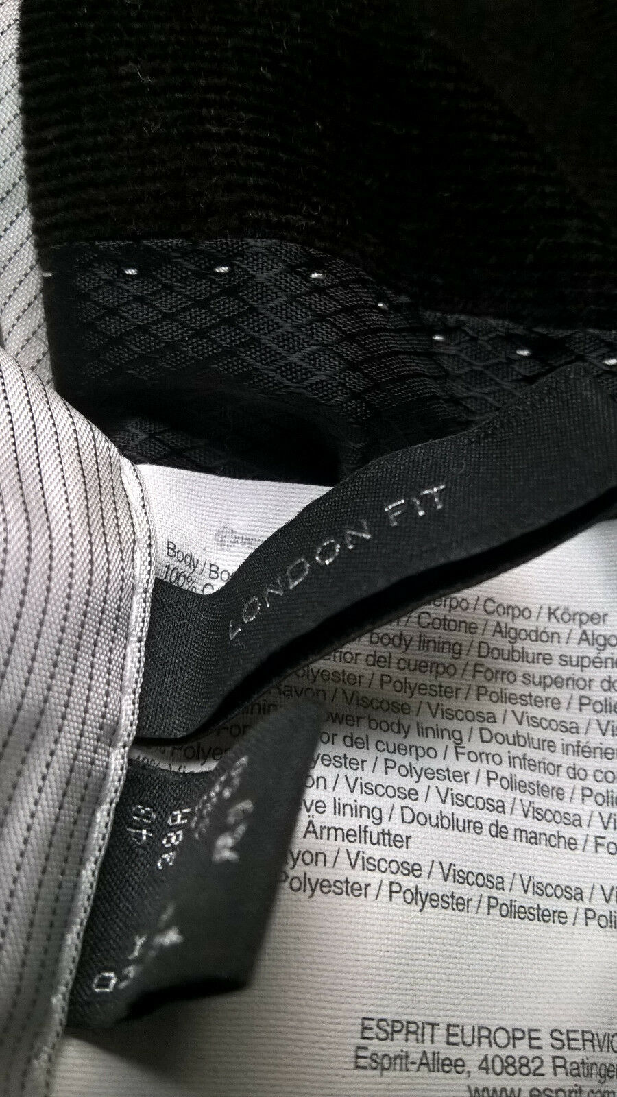 ESPRIT Sakko 48 London fit, fit, fit, NP  ,2mal getragen, | Nutzen Sie Materialien voll aus  1b770a