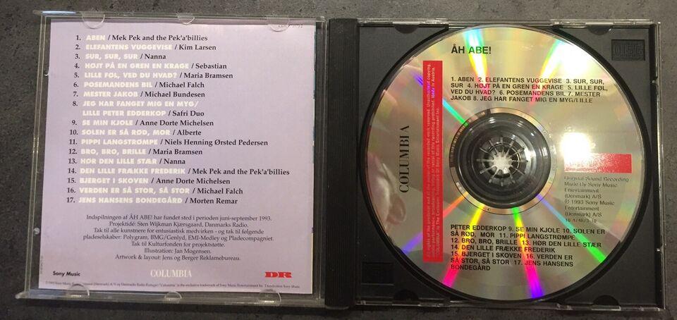 Diverse: Åh Abe, børne-CD