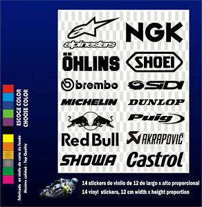 14-X-PEGATINAS-STICKERS-VINILO-PACK-Moto-Sponsor-Vinyl-Aufkleber