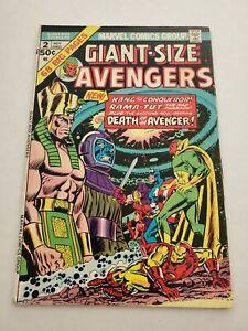 Giant Size Avengers 2 Kang Rama Tut Vision Marvel Comics