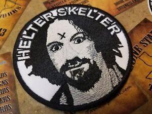 Details about Helter Skelter Manson Patch