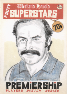 Alex-Jesaulenko-Carlton-Blues-AFL-VFL-Footy-Acheron-Mint-sketch-card