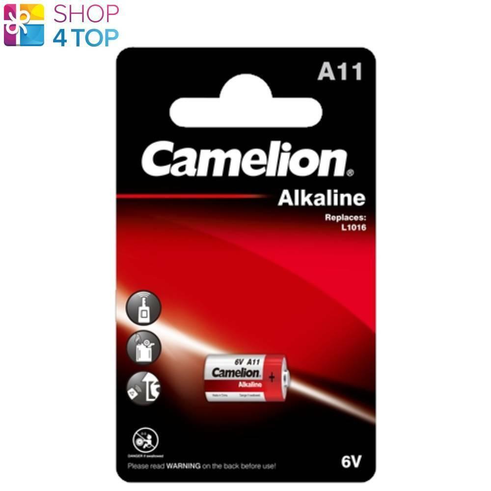 Camelion a11 Alkaline Batteries 6v mercury 38mah lr11a 1bl Exp 2025 new