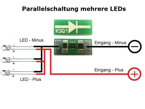 S676-5 PEZZI MINI MINIATURA costante fonte di alimentazione 10ma per LED 4-24v ksq1