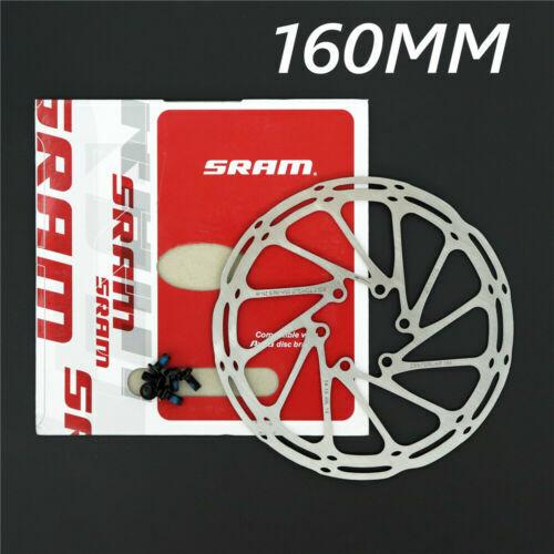 SRAM AVID CENTERLINE DISC BRAKE ROTOR 160//180MM 6 BOLT STYLE