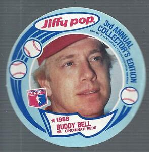 1988 Msa Jiffy Pop Discs Baseball Card Pick Ebay