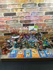 XBOX 360 Skylanders Giants Game 1 Portal Lot Of 32 Game Figures (2011-2013)