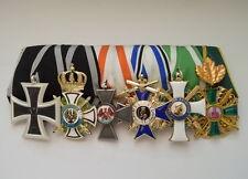Ordensspange Preussen Eisernes Kreuz Baden Zähringer Löwe Albrechtsorden Sachsen