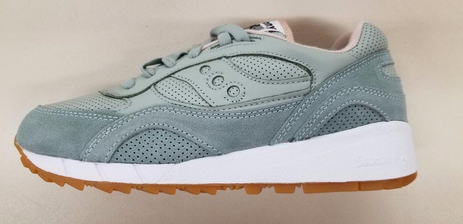 SAUCONY SHADOW 6000 HT Aqua Suela Goma verde gris para Hombre Tenis de correr S70349-3