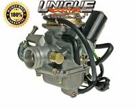Scooter 150cc Gy6 24mm Carburetor With Free 10 Piece Jet Kit