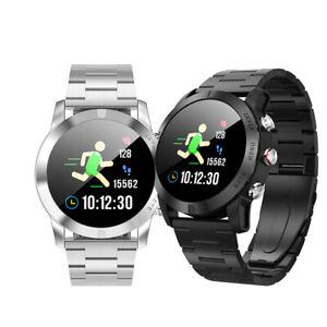 Dorado-s10-Bluetooth-reloj-curved-display-acero-inoxidable-Samsung-iPhone-huawei-IP