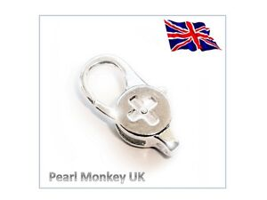 Secure Lobster Detachable Trigger Clasp Clamp for Key Ring / Split Rings 28x12mm