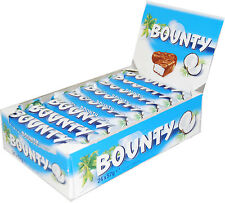 BOUNTY MILK CHOCOLATE Full Box Of 24 Bars 24 x 57g 2oz