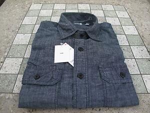 590e809db0fd UNIQLO Chambray Dark Navy Light Denim Jean UNIQUILO Shirt H&M H and ...