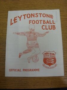 02-05-1972-Leytonstone-v-Enfield-Neat-Team-Changes-This-item-is-supplied-by