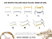 Lot Of 12 Pcs Ring Size Adjuster Guard Ring Strong & Comfortable Ring Guard-14k.
