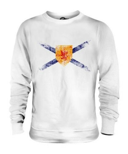 Nova Scotia Distressed Flagge Unisex Pullover Top Hemd Trikot Geschenk