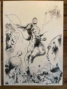 Heroes in Crisis 5 cover art Trevor Hairsine Superman Justice League Dceased