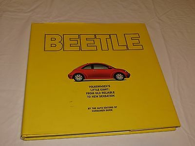 RARE Coffee Table large hardcover book Beetle Volkswagen VW little giant cars