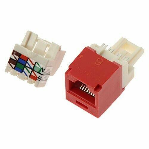 Panduit CJ688TPRD Mini-com Tx6 Category 6 Rj45 Jack Module