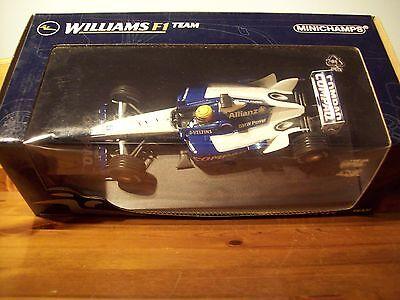 1/18 Minichamps Williams F1 Bmw Fw24 Ralf Schumacher 2002-mostra Il Titolo Originale Una Grande Varietà Di Merci