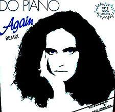"""12"""" - DO PIANO - AGAIN (REMIX) ITALO NUEVO - NEW, STOCK STORE"""