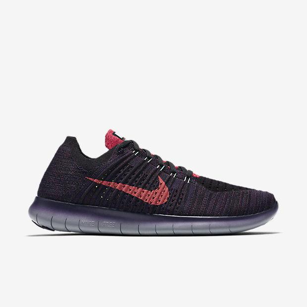 Cheap and beautiful fashion Nike Free RN Flyknit Running Mens Shoes Maroon/Crimson 831069 603 Multi-Comfortable