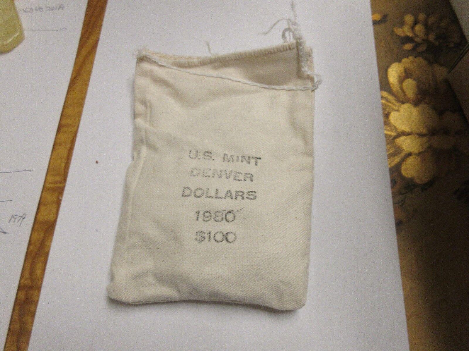1980 , Susan B. Anthony Dollar , Denver Mint , Bag of 1