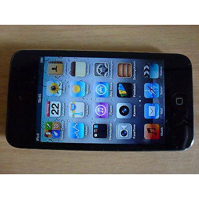 Apple iPod Touch 4. Gen 32GB Modell A1367 schwarz