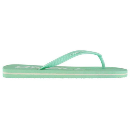 NEW Ladies O/'NEILL Branded Flip Flops Sizes 3-7 White//Pink//Orange//Green Girls