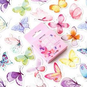 46pcs-Butterfly-Stationery-DIY-Diary-Sticker-Paper-Label-Scrapbooking-Vogue-Q-amp