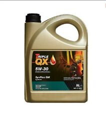 Car Engine Oil Triple QX SynPlus SAE 5W30 Fully Synthetic 5L GM Spec 5 Litre