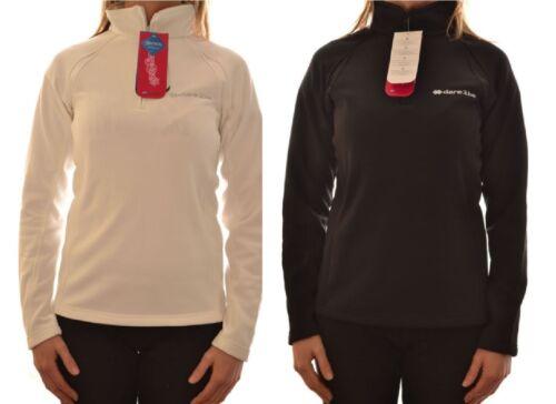 DARE 2B LADIES ZURI 1//2 ZIP SOFTSHELL FIREBALL BLACK WHITE WALKING TOP DWA561 D3
