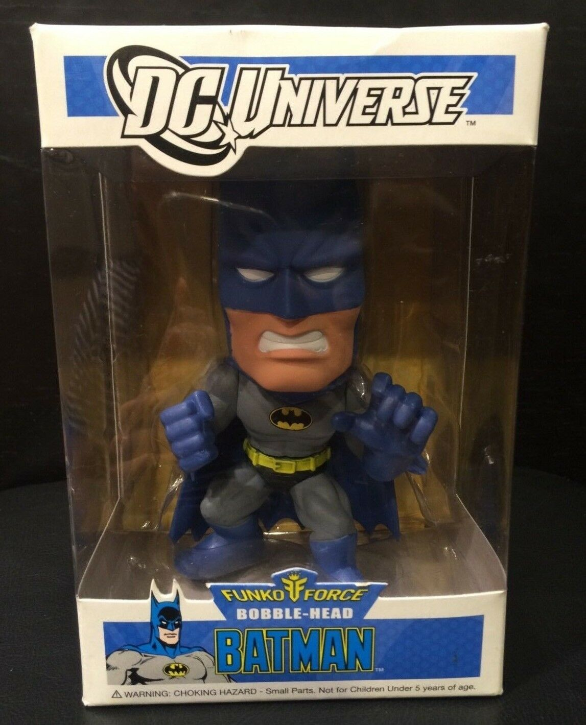 Funko Force DC Universe Batman Bobble-Head Vaulted RetiROT Pop  - VGC