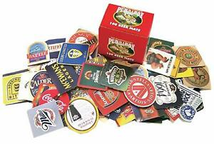 Pub-In-A-Box-100-Beer-Mats-Selection-pp