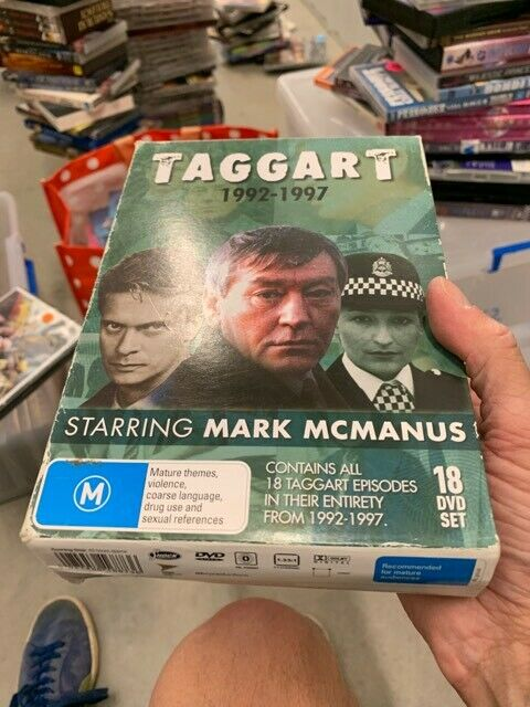 Taggart 1992 - 1997 Collection dvd very good conditon t1