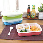 Portable Microwave Lunch Box Picnic Bento Food Container Storage+Spoon NEW