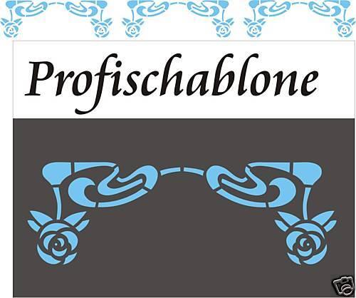 Wandschablone peintre gabarit wandfries décor Pochoirs Style Art Déco Style Art Déco 2
