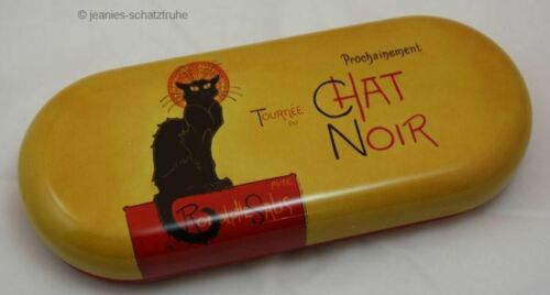 Brillenetui Etuie für Brille CHAT NOIR schwarze Katze * Steinlen