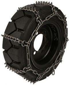 "27X8.50X15 27X8.50R15 Tire Chains /""PL/"" Link Snow Traction Device Passenger Car"