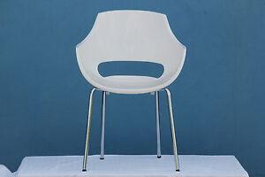 Ufficio In Giardino : Sedia di design da giardino ufficio cucina sedile bianco nuovo ebay