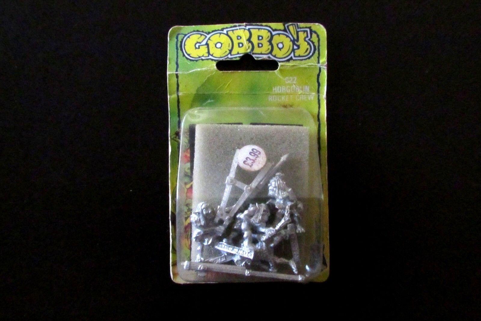 Fuera de imprenta ciudadela Warhammer caos C22 Duende lanzacohetes & Crew Nuevo Y En Caja