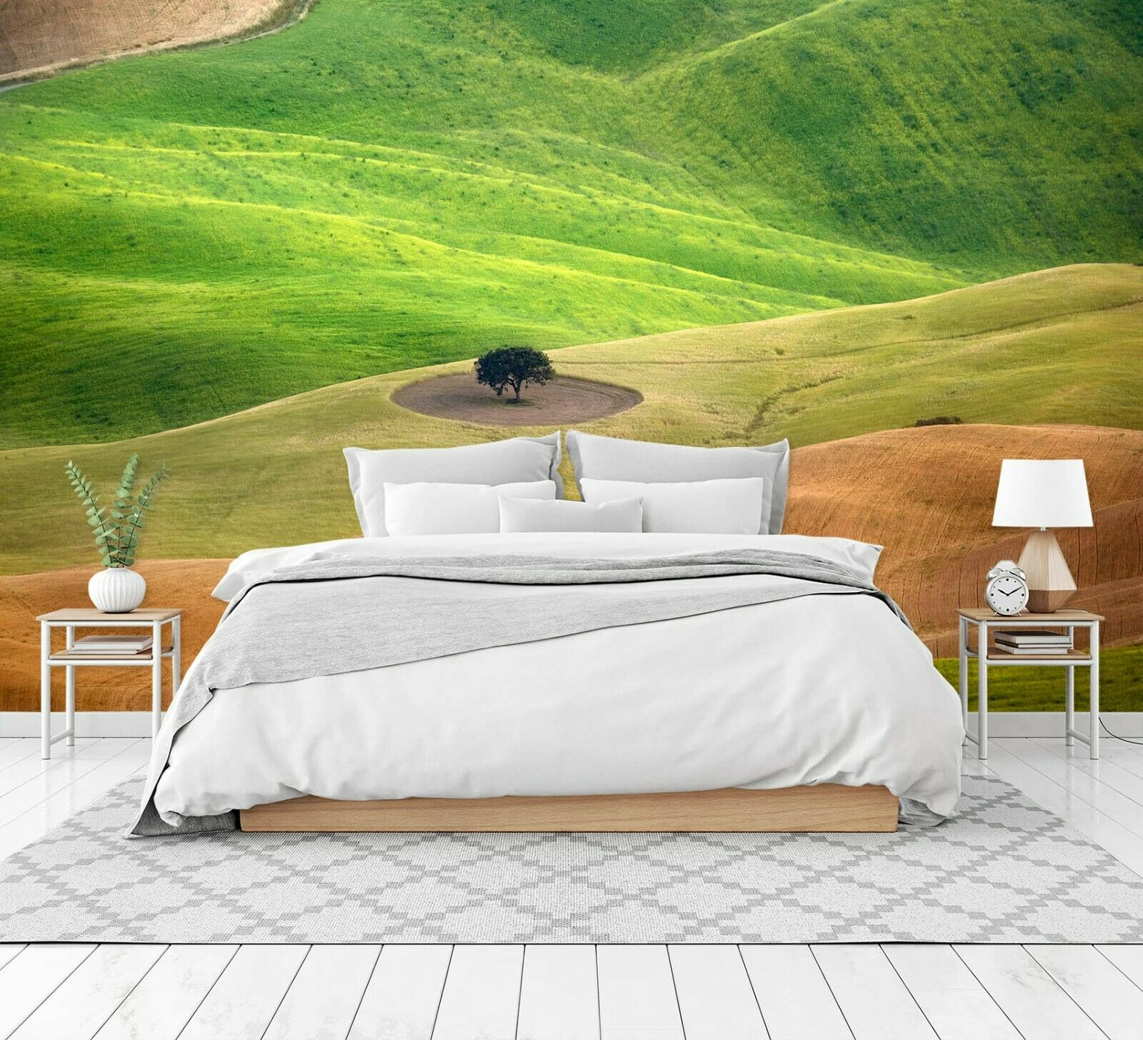 3D Grün Meadow N397 Wallpaper Wall Mural Self-adhesive Marco Carmassi Amy