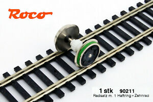 Audacieux Roco 90211 Essieu Moteur Pour Locomotive Ou Moteur Voiture Avec Traction, Pièce De Rechange Dc.-afficher Le Titre D'origine Grandes VariéTéS