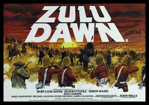 Zulu Dawn Burt Lancaster Repro Film Poster Land Ebay
